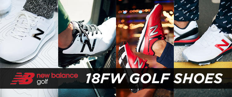 new balance golf 2018 F/W FOOTWEAR